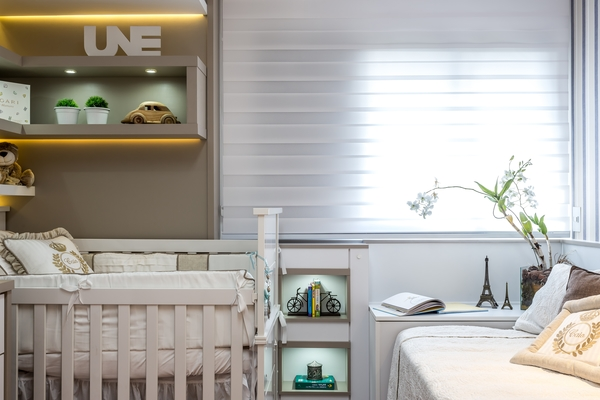 Quarto de bebê Curitiba decoração interiores