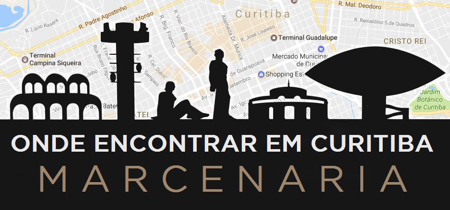 mapa curitiba MARCENARIA